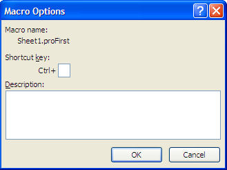 VBA events option