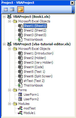 Multi VBA Projects