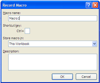 Section 1: Programming in Excel (Macros)